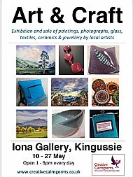 Spring Exhibition, Iona Gallery, Kingussie