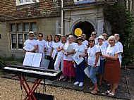 Performing at Wonston Fete 2017