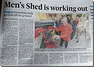 black isle men's shed in the press