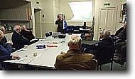 talks and discussions in the black isle men's shed