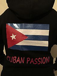 Cuban passion hoodie