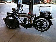 Chris Goldson's Triumph Model P 1926
