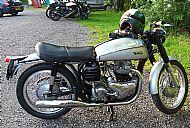 Colin Clover's Norton Dominator