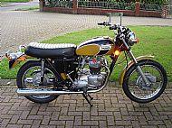 Tony Turner's Bonneville T120 R 1971