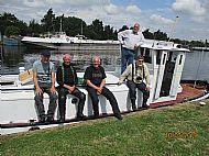All aboard the 'Ruffian'
