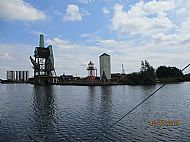 The old coal barge hoist at Goole docks
