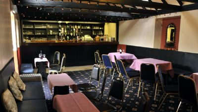 the elphinstone hotel function suite bar - copyright of lindsay addison