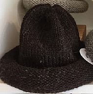 Jacobs wool hat - brown