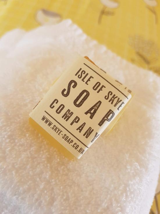 sgritheal view bed & breakfast, skye - skye soap