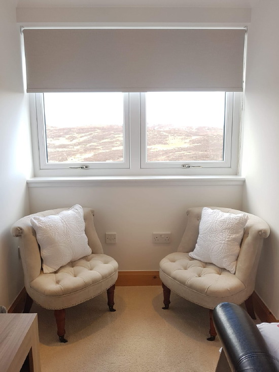 sgritheal view bed & breakfast, skye - seating area with views