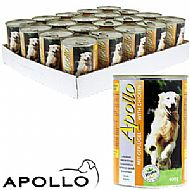 Apollo dog food tin - beef
