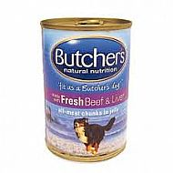 Butchers dog food - Beef & Liver