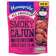 Homepride sticky cajun cooking sauce