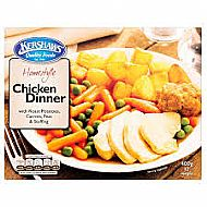 Chicken dinner ready meal