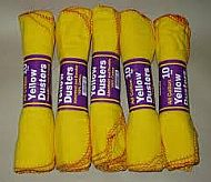 Yellow dusters 10pk