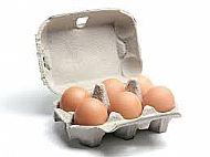 1/2 doz eggs