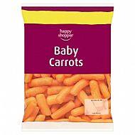 Frozen baby carrots H/S