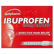 Ibuprofen 16 caplets