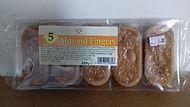 Almond fingers