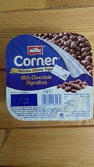 Muller Yogurt - milk chocolate