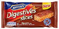 Digestive cake bars