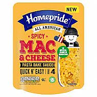 Homepride Mac & Cheese cooking sauce