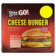 Microwave cheeseburger