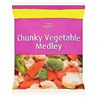 Frozen mixed vegetables H/S