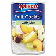Princes fruit cocktail