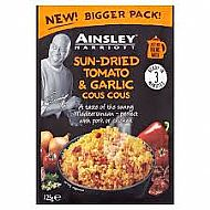 Ainsley's sun dried tomato & garlic cous cous