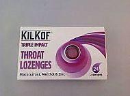 Kilkof Throat lozenges