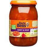 Uncle bens sweet & sour sauce