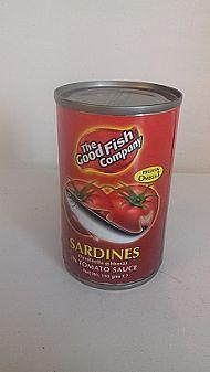 Sardines in tomato sauce 155g