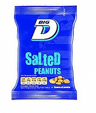 Salted peanut - pouch 50g