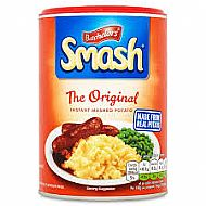 Smash instant mashed potato