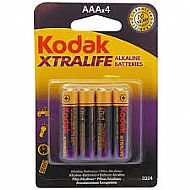 Kodak AA xtralife batteries - 4 pack