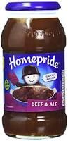 Homepride cooking sauce beef & ale