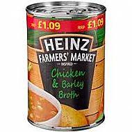 Heinz Chicken & barley broth soup