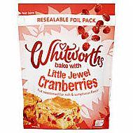 Whitworth cranberries