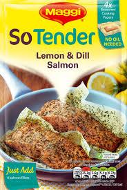 Maggi Salmon & dill sauce