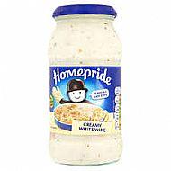 Homepride cooking sauce white wine