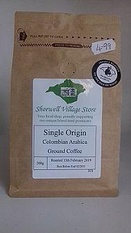 Single origin Colombian Arabica coffee