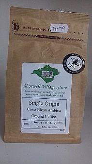 Single origin Costa Rican Arabica coffee
