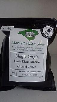 Single origin Costa Rican Arabica ground coffee