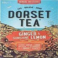 Dorset tea Ginger & sunshine lemon sachet