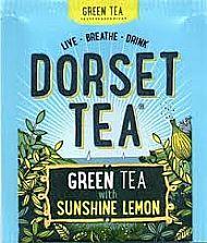 Dorset tea Green tea with sunshine lemon sachet