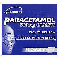 Paracetamel 16 caplets