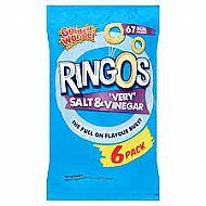 Ringo's Salt & Vinegar - 6 pack
