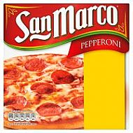 San Marco Pepperoni pizza