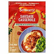 Schwartz sausage casserole sauce mix